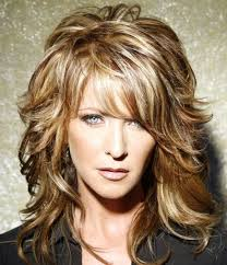 feathery haircuts for mature women best hairstyle for long wavy hair feathered hair thicker hair