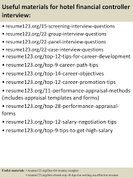 Sample Controller Resume by Top 8 Hotel Financial Controller Resume Samples