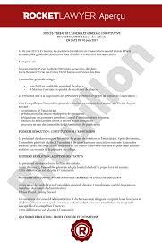 association bureau conseil d administration procès verbal assemblée constitutive ag constitutive