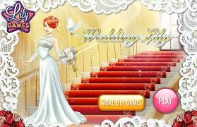 Wedding Dresses Games Game For Girls Wedding Lily Game Girls Games Online Dress Up