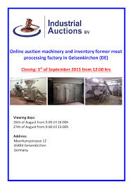 online catalogue auction 127 gelsenkirchen by industrialauctionsbv