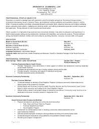Sample Resume For Social Worker Position by Chambers Msw Resume 7 19 2015