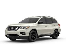 black nissan pathfinder nissan canada offers pathfinder platinum midnight edition to