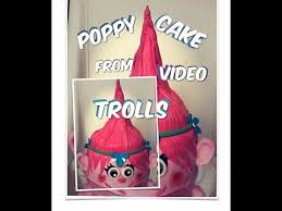 princess poppy trolls cake diy how to make trolls cake trolls