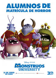 monsters university 17 21 extra large movie poster image