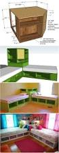 best 25 corner beds ideas on pinterest bunk beds with storage how to diy corner unit for the twin storage bed