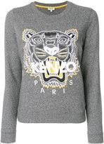 kenzo gray women u0027s sweatshirts shopstyle