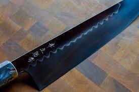 konosuke honyaki aogami 2 240mm gyuto knife pinterest knives