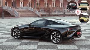 lexus lc 500 release date 2018 lexus lc 500 and 500h 48 2560x1440 hybrid color caviar side