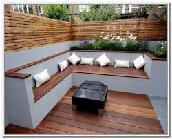 resultado de imagen de modern outdoor storage bench ático
