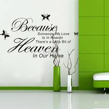 because someone love heaven vinyl wall lettering stickers because someone love heaven vinyl wall lettering stickers quotes and sayings with black