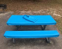 picnic table cloth etsy