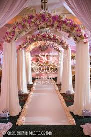 wedding decorators indian wedding stage flower arrangements suhaag garden indian