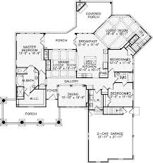 one level luxury house plans plan 15636ge luxurious one story living open floor bedroom