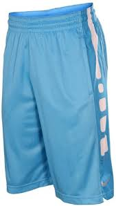light blue nike shorts nike men s elite stripe basketball shorts baby blue white xl buy