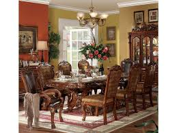9 Piece Dining Room Set Acme Furniture Dresden 9 Piece Dining Table And Chair Set Del