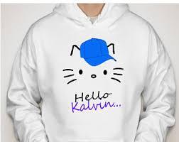 kitty hoodie etsy
