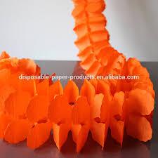 Tissue Paper Halloween Crafts by Paper Tissue Garland Decorations Garland Bunting Tissue Paper