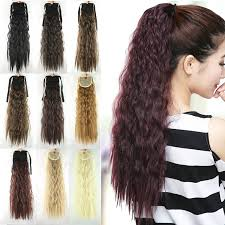 ponytail extension clip notebook paper picture more detailed picture about 55cm