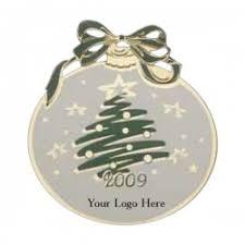 tree ornaments custom logo ornaments