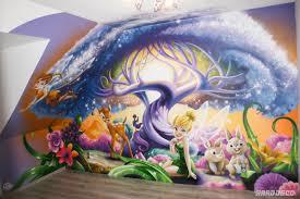 fresque chambre fille fresque arbre des fees clochette chambre fille 1 jpg 1500 1000