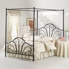Metal Sleigh Bed Hillsdale Janis Metal Sleigh Bed In Black 16xxbxr