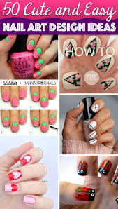 how to do easy cute nail designs best nail ideas easy flower nail
