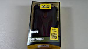Otterbox Defender Series Rugged Protection Lg G2 Otterbox Defender Series Case Review Verizon Youtube