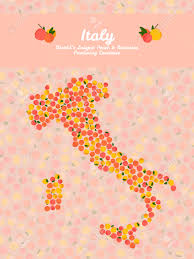 Map If Italy by Italy Map Poster Or Card Veggie Postcard Map Of Italy Made