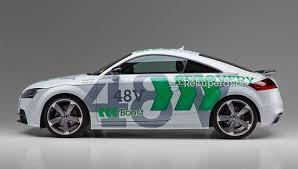 audi tt electric green car congress schaeffler preparing 48v mild hybrid audi tt