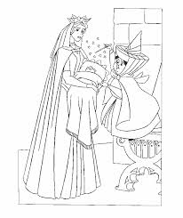 coloring sleeping beauty coloring pages 11