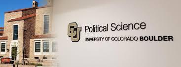 Boulder Co Zip Code Map by Political Science University Of Colorado Boulder University Of
