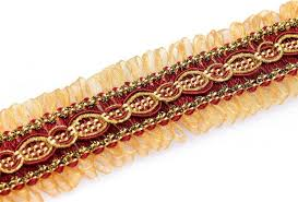 gold lace ribbon 20y braided gold lace ribbon trim decorated sewing trimming fabric