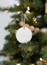 minimal christmas tree the merrythought