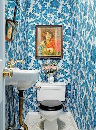 wallpapered bathrooms ideas bold decorating ideas for small bathrooms