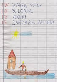 lettere straniere in corsivo maiuscolo e minuscolo apedario l alfabeto delle vacanze un anno dopo