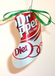 recycled dr pepper can ornament craft ideas dr