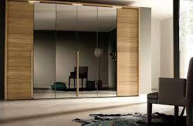 elegant bedroom wardrobe designs with mirror in interior designing