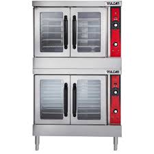 vulcan vc44ed 480 3 double deck full size electric convection oven