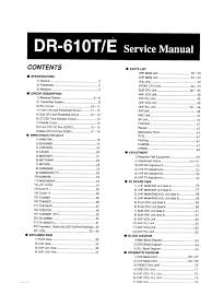 alinco dr 610 service manual
