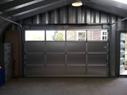 Metro Overhead Door Kal Aluminum Garage Door Contemporary Shed Portland By