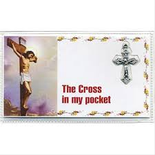 pocket crosses crosses pocket crosses olive wood cross for comfort cross in