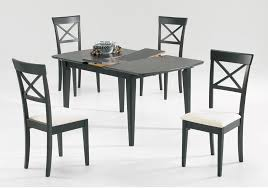 espresso rectangular dining table 5 pc spago espresso rectangle dining room furniture set wholesale