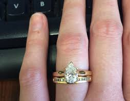 e wedding bands show me wedding bands with large solitaire e rings