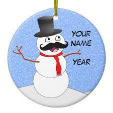 mustache ornaments keepsake ornaments zazzle
