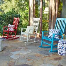 rock point white rocking chair pier 1 imports