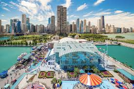 chicago map with attractions chicago best attractions travelspoint