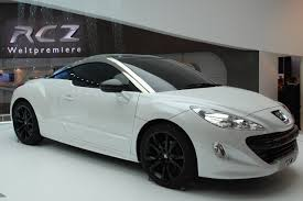 pejo spor araba peugeot rcz photos and wallpapers trueautosite