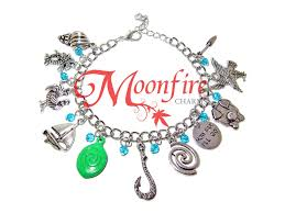halloween charm bracelets moana u2013 moonfire charms