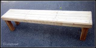homeroad diy farmhouse bench